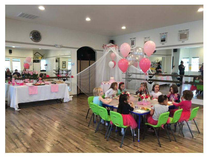Shine Studio & Inspired Dance Themed Birthday Parties